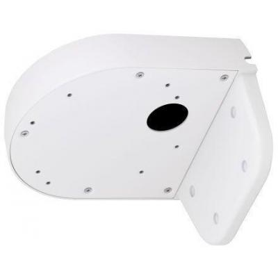 Brickcom beveiligingscamera bevestiging & behuizing: L Shape Wall Mount - Wit