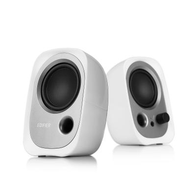 Edifier Speaker: R12U - Zwart, Zilver, Wit