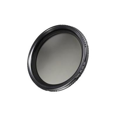 Walimex camera filter: pro ND-Fader coated 67 mm ND2 - ND400 - Zwart, Transparant