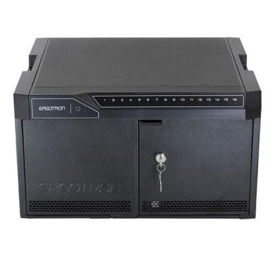Ergotron multimedia kar & stand: TM Desktop16 - Zwart