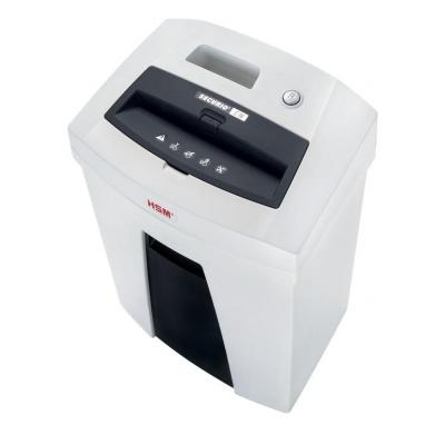 Hsm papierversnipperaar: Securio C16 - Zwart, Wit