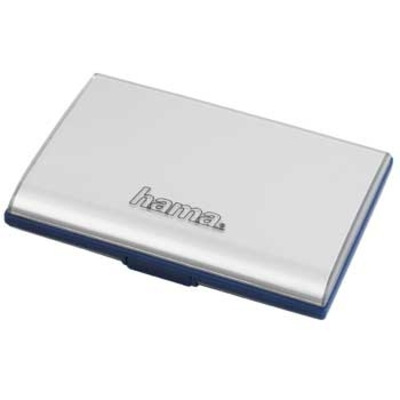 "Hama ""Fancy"" Memory Card Case, silver - Zilver"