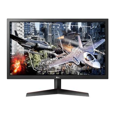 """LG 23.6"""", FHD (1920 x 1080), TN, 16:9, 300 cd/m², 16.7M, 1ms, 40 W, HDMI, DisplayPort Monitor - Zwart"""