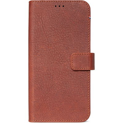 Decoded 2 in 1 Leather Booktype iPhone 11 Pro Max - Bruin - Bruin / Brown Mobile phone case
