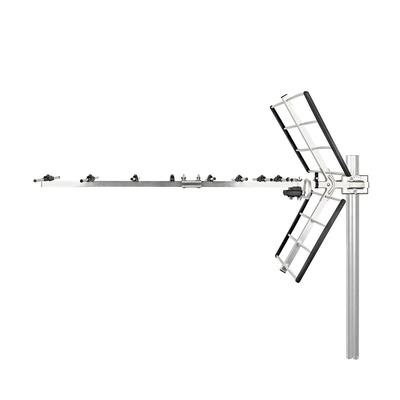 Nedis ANORU33L8ME Antenne - Zilver, Zwart
