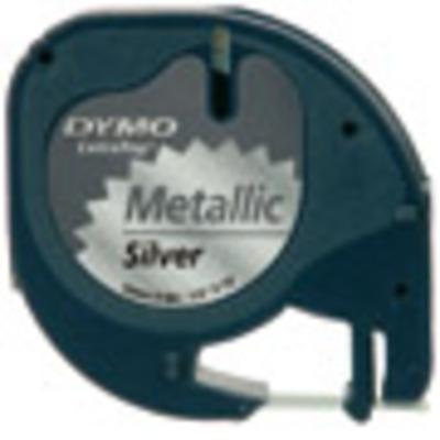 Dymo labelprinter tape: LetraTAG Metallic tape