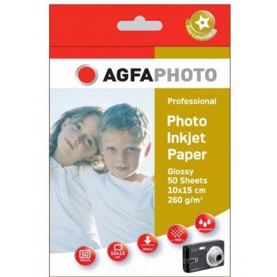 Agfaphoto fotopapier: 50sheets 260gr high glossy