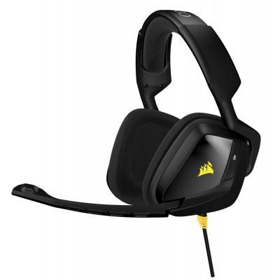 Corsair headset: VOID - Zwart, Geel