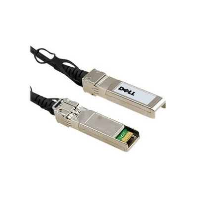 Dell Wyse QSFP+/ QSFP+ 40GbE Passive Copper Direct Attach Cable, 7 m Netwerkkabel - Zwart