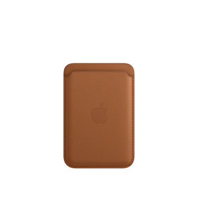 Apple Leren kaarthouder met MagSafe voor iPhone - Zadelbruin