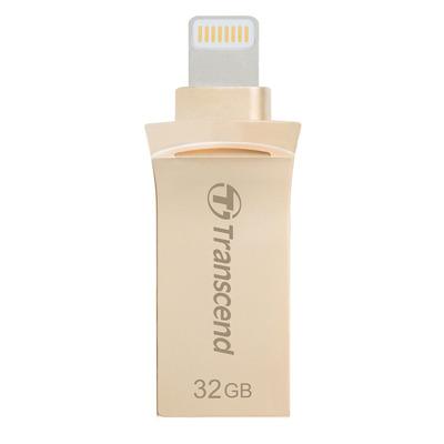 Transcend USB flash drive: JetDrive Go 500 32GB - Goud
