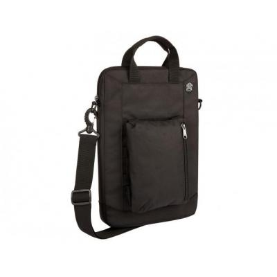 STM Ace Vertical Cargo Laptoptas - Zwart