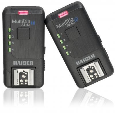 Kaiser fototechnik camera flits accessoire: MultiTrig AS 5.1 - Zwart