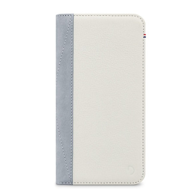 Decoded Leather Wallet Case for iPhone 7 Plus, White Mobile phone case - Wit