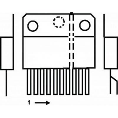 St-microelectronics  component: Power driver 15p