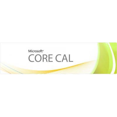 Microsoft software: Core CAL, SA, GOL D, DCAL