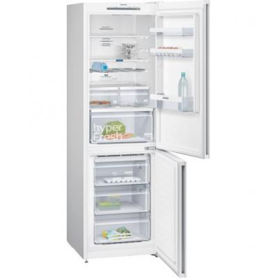 Siemens koelkast-vriezer: A++, 324L, 39dB, SN-T, 100W - Wit