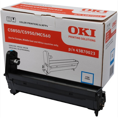 OKI drum: Cyan image drum for C5850/5950 - Cyaan