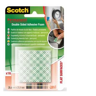 Scotch plakband: BUREAUREKENM MS-20NC ROOD