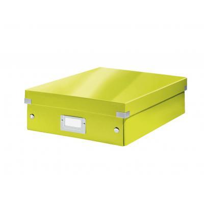 Leitz archiefdoos: Click & Store middelgrote opbergdoos - Groen