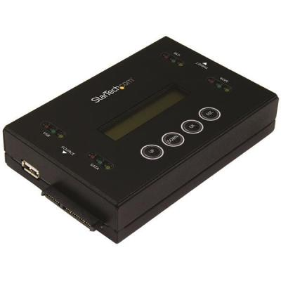 """Startech.com duplicator: Schijf duplicator en wisser voor USB Flash drives en 2.5 / 3.5"""" SATA schijven - Zwart"""