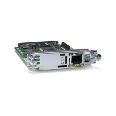 Cisco voice network module: 1-Port 3rd Gen Multiflex Trunk Voice/WA