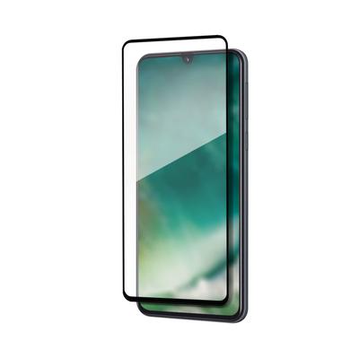 Xqisit For Samsung Galaxy A41 Screen protector - Zwart,Transparant