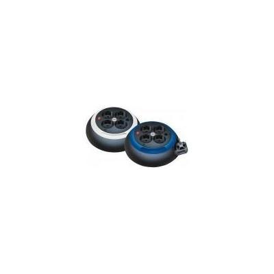 Brennenstuhl surge protector: Stroomhaspel - Zwart, Blauw