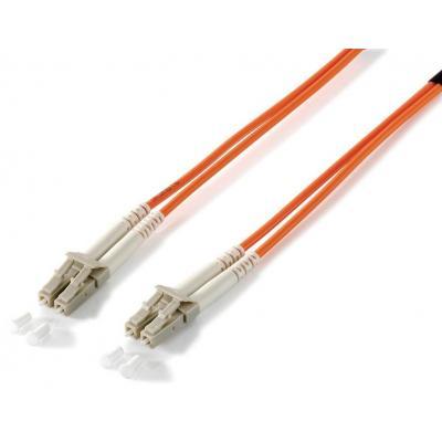 Equip fiber optic kabel: LC/LС 50/125μm 1.0m - Oranje