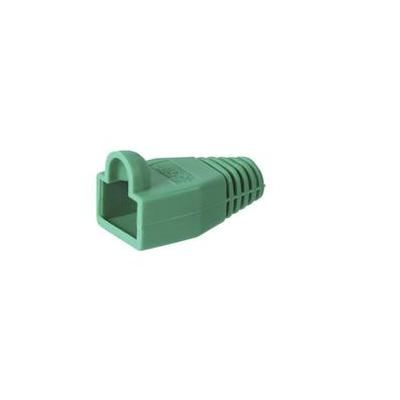 Wentronic kabelklem: Strain relief boot for RJ45 plugs - Groen