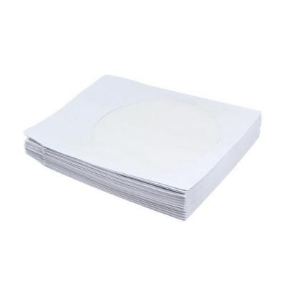 Logilink : Paper CD cover, 50 pcs - Wit