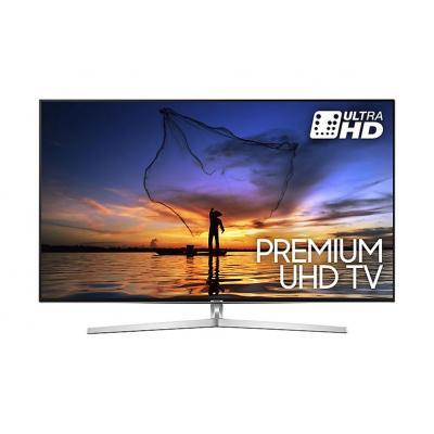 Samsung led-tv: UE49MU8000 - Zwart, Zilver