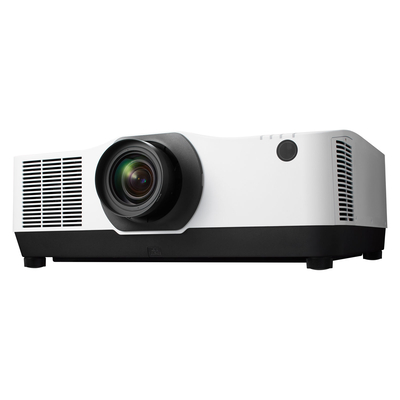 NEC PA804UL-WH Projector + NP41ZL, LCD, 1920 x 1200, 16:10, VGA, DisplayPort, HDMI, Ethernet, RS-232 Beamer - Wit