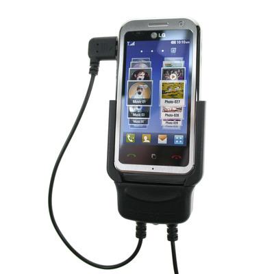 Carcomm CMPC-503 Mobile Smartphone Cradle LG Arena KM900 Houder - Zwart