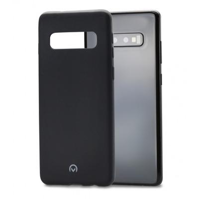 Mobilize Rubber Gelly Case Samsung Galaxy S10 Matt Black Hoes
