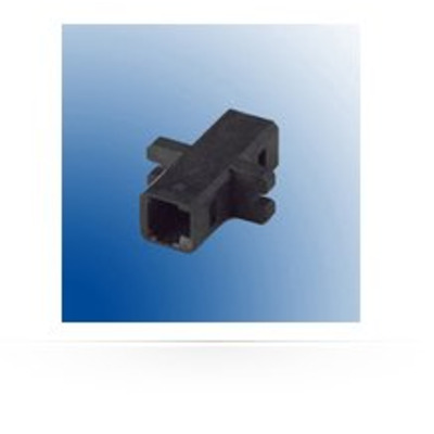 Microconnect MTRJ standard adapter Kabel adapter - Zwart
