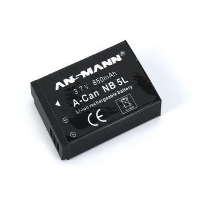 Ansmann Li-Ion battery packs A-CAN NB 5 L - Zwart