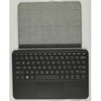 Hp mobile device keyboard: Travel Keyboard (UK English) - Zwart, Grijs, QWERTY