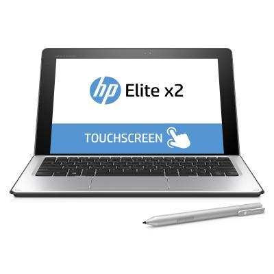 HP laptop: Elite x2 1012 Core M3 - Windows 10 Home + Travel Keyboard + GRATIS Wacom pen - Zilver