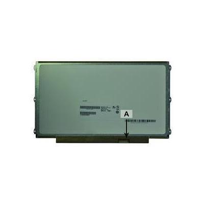 """2-power notebook reserve-onderdeel: 31.75 cm (12.5 """") HD+ 1366x768 LED Matte - Zwart, Groen"""