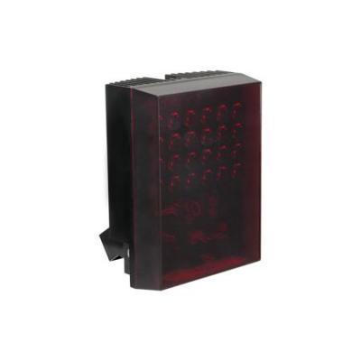 Acti beveiligingscamera bevestiging & behuizing: IR LED Unit, 25m, Aluminium/Plastic, Black - Zwart