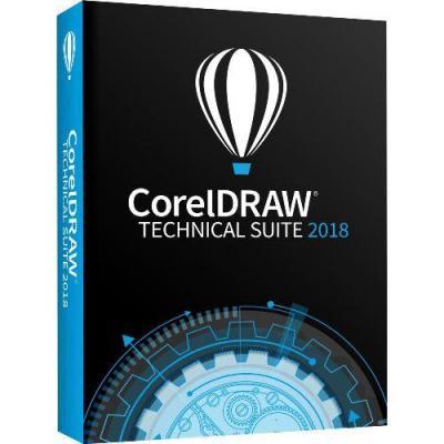 Corel DRAW Technical Suite 2018 Grafische software