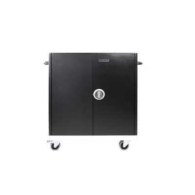 Leba NoteCart Unifit Macbook iPad Apple Portable device management carts & cabinet - Zwart