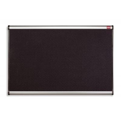 Nobo prikbord: Prestige Foambord Zwart 1200 x 900 mm
