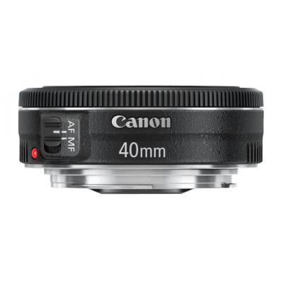 Canon camera lens: EF 40mm f/2.8 STM - Zwart