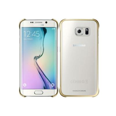 Samsung mobile phone case: Clear Cover - Goud, Transparant