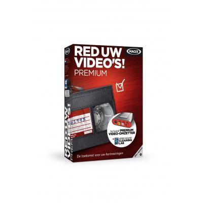 Magix algemene utilitie: Magix, Red Uw Video's 8.0 Premium