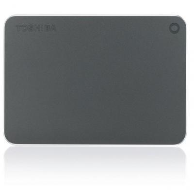 Toshiba externe harde schijf: Canvio Premium 1TB - Grijs, Metallic