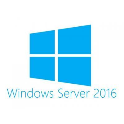 Hewlett packard enterprise software licentie: Microsoft Windows Server 2016 Standard Edition ROK 16 Core