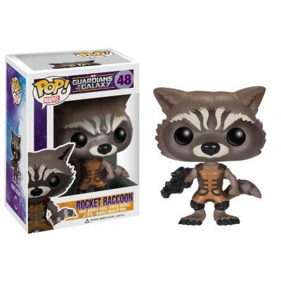 Funko video game toys & figure: Pop! Marvel: Guardians of the Galaxy - Rocket - Multi kleuren